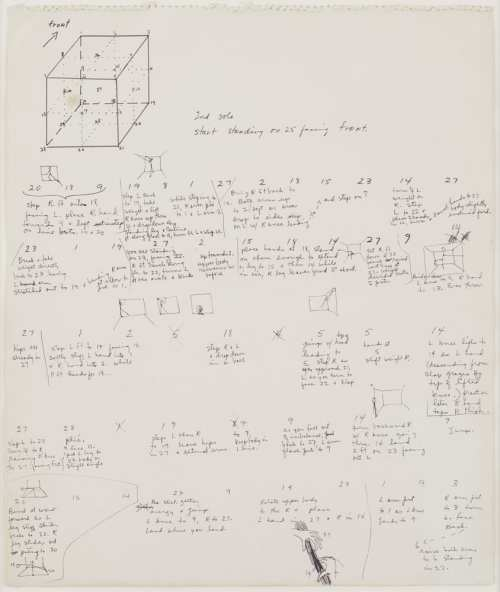 small resolution of trisha brown untitled locus 1975 ink and graphite on paper