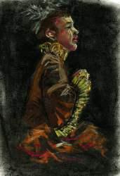 renaissance figure drawing conte
