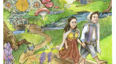 Hobbits for a Wedding & Greeting Cards