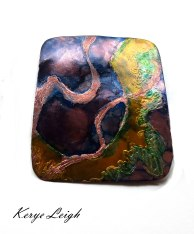 Tentacles - Copper, Ink $20