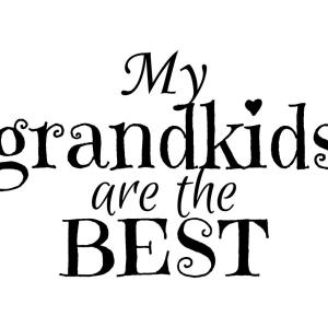 My Grandkids Are The Best