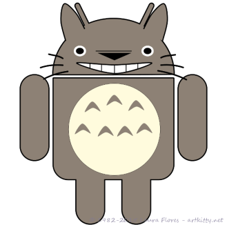 Totoro Droid (Grin)