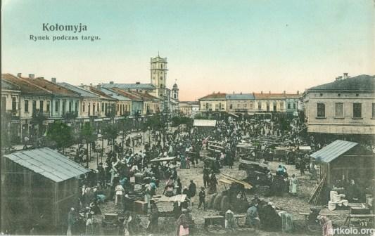 Ринок під час торгу (дат. 1907 - Шпербер)