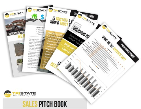 Sales Pitch Book - Roofing Company