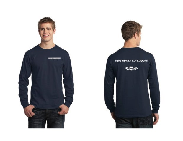 Screenprint Design - Water Company Employee Shirts