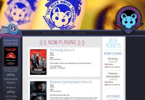 Web Design - Blue Mouse Theatre Showings