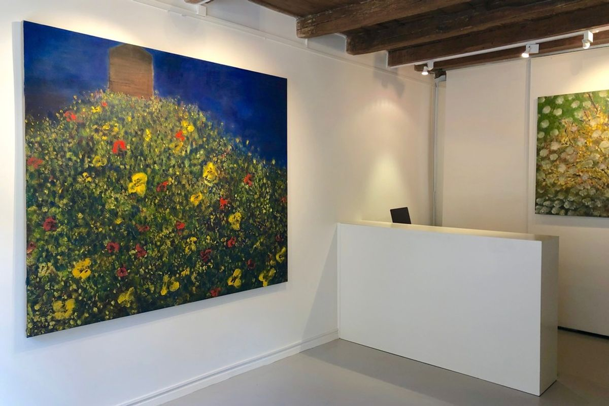 le salon vert artworks exhibitions