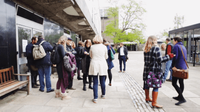 Artists Open Day at the Sidgwick Site