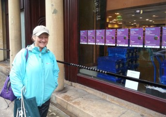 Ruth Moushabeck checks out Waterstones