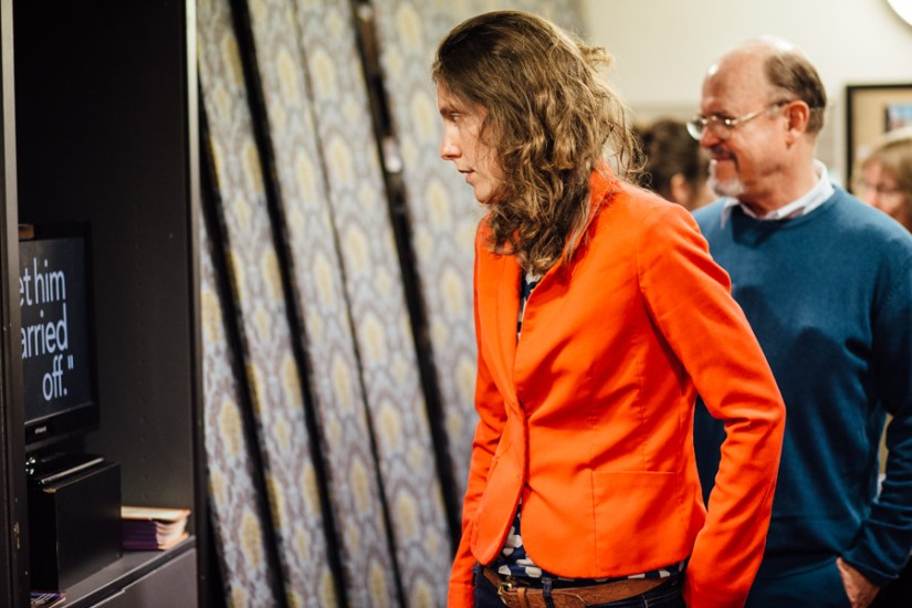 Philip Cornett's video installation
