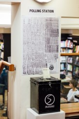 Marc Renshaw's ballot box installation