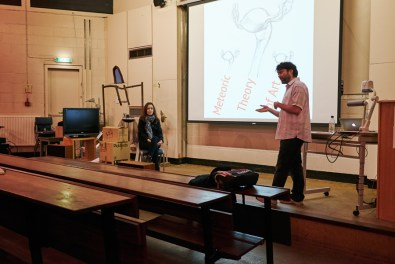 Milos's lecture on the Meteoric Theory of Art