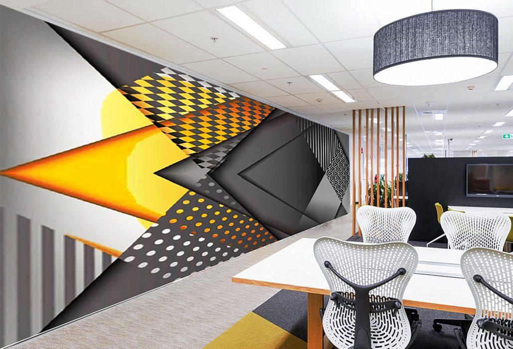 individual corporate wall design