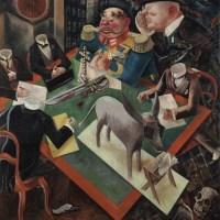 George Grosz: War→Madness→Dada