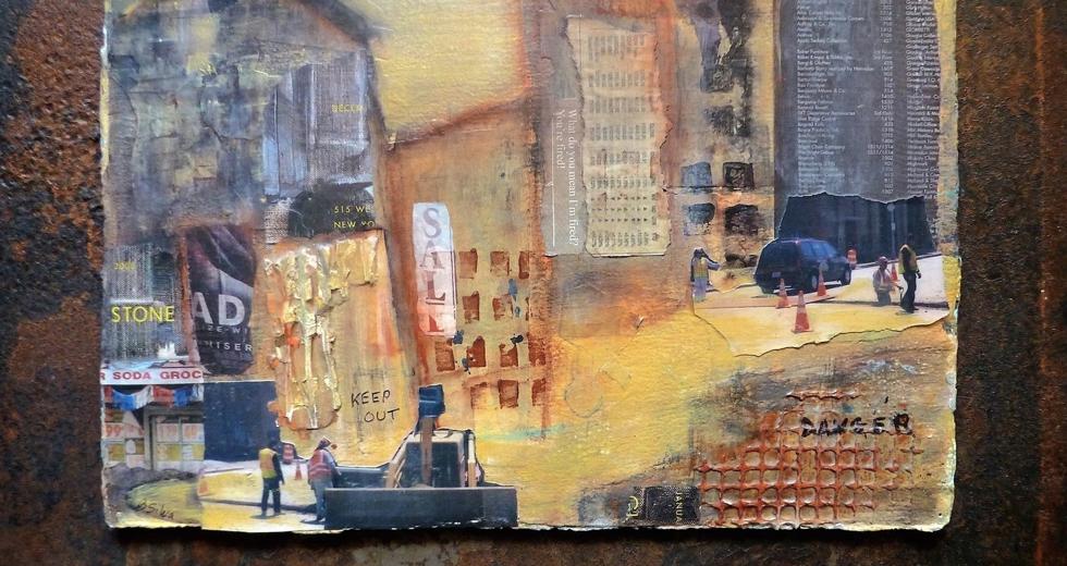 "Beverly Silva -""Urban Artifact"""