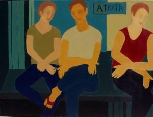 """Renee Kahn """"A Train"""""""