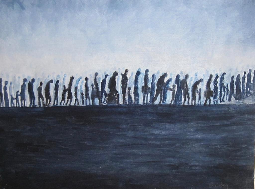 """Brenda Steinberg """"Refugee Lives Matter"""""""