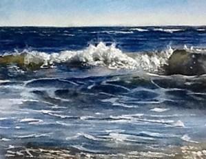 """Priscilla Malone """"As The Surf Rolls"""""""