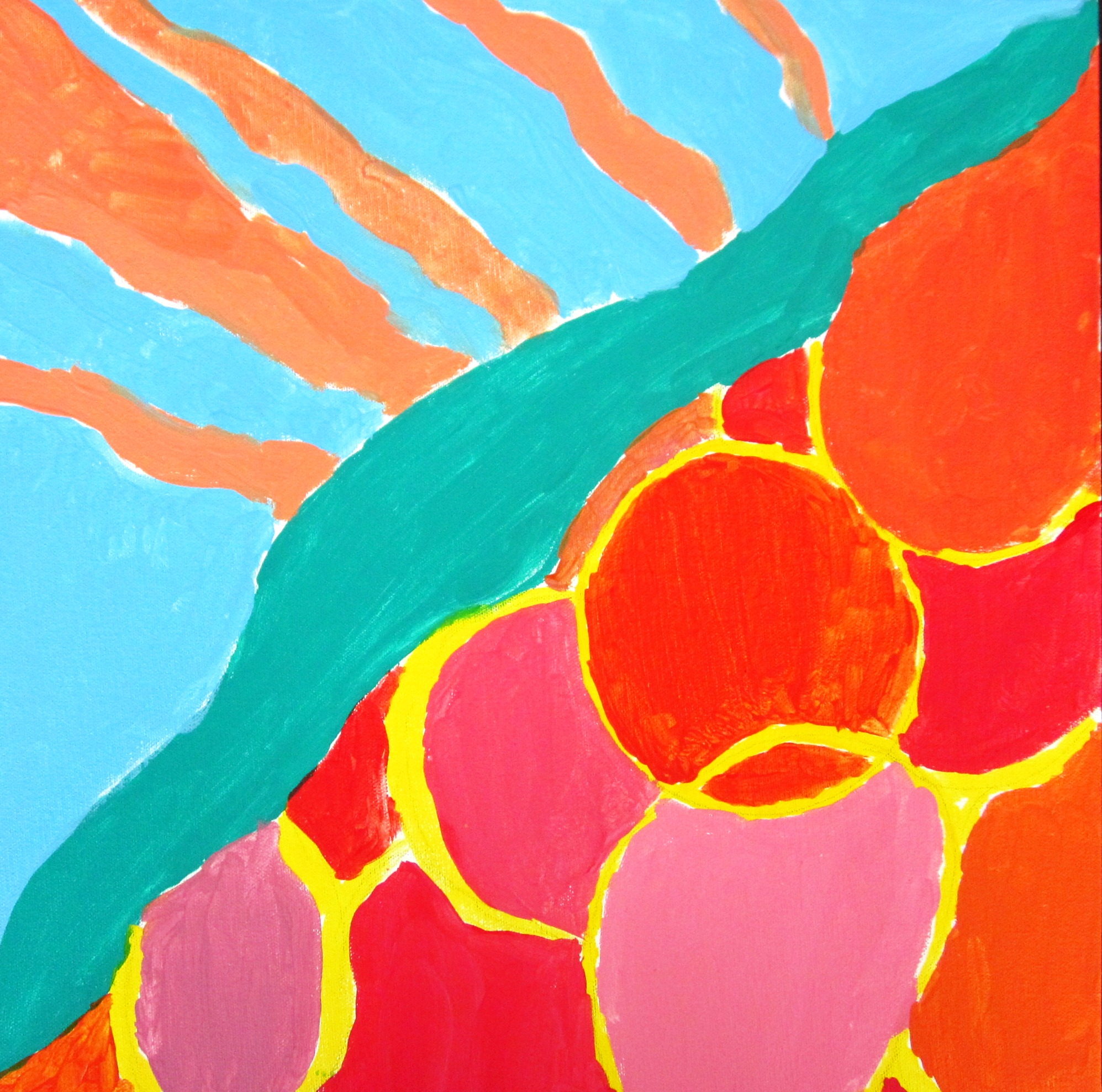 Gorgeous Abstract Art In Grade Seven