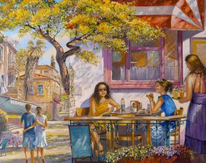Breakfast-in-Tel-Avivs-Cafe