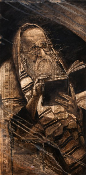 Power of Praying, Painting by Alex Levin