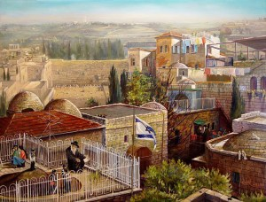 Alex Levin - View at the Kotel