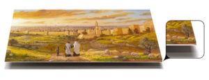 Welcome to Jerusalem Aluminium print