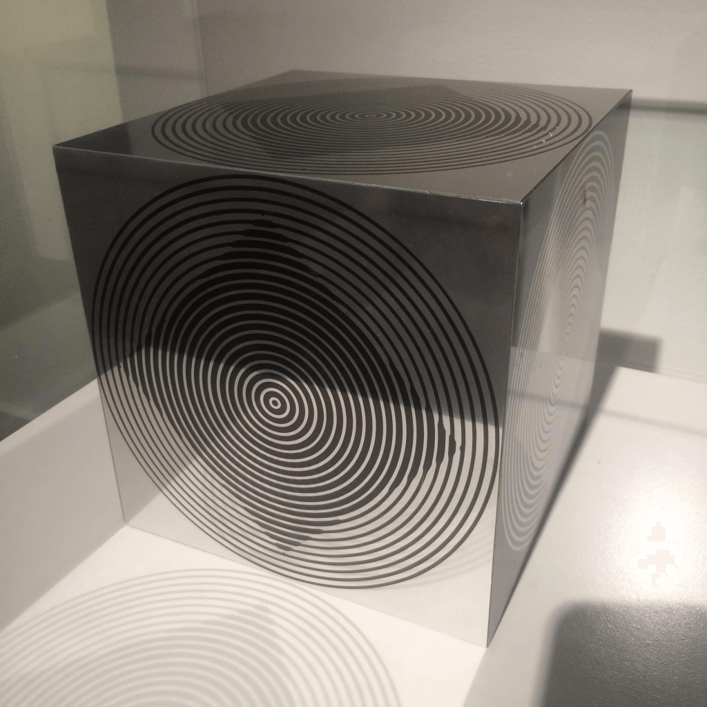Optical and kinetic art by Victor Vasarely