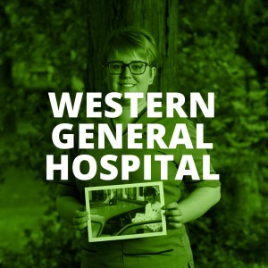 WESTERN GENERAL HOSPITAL BUTTON
