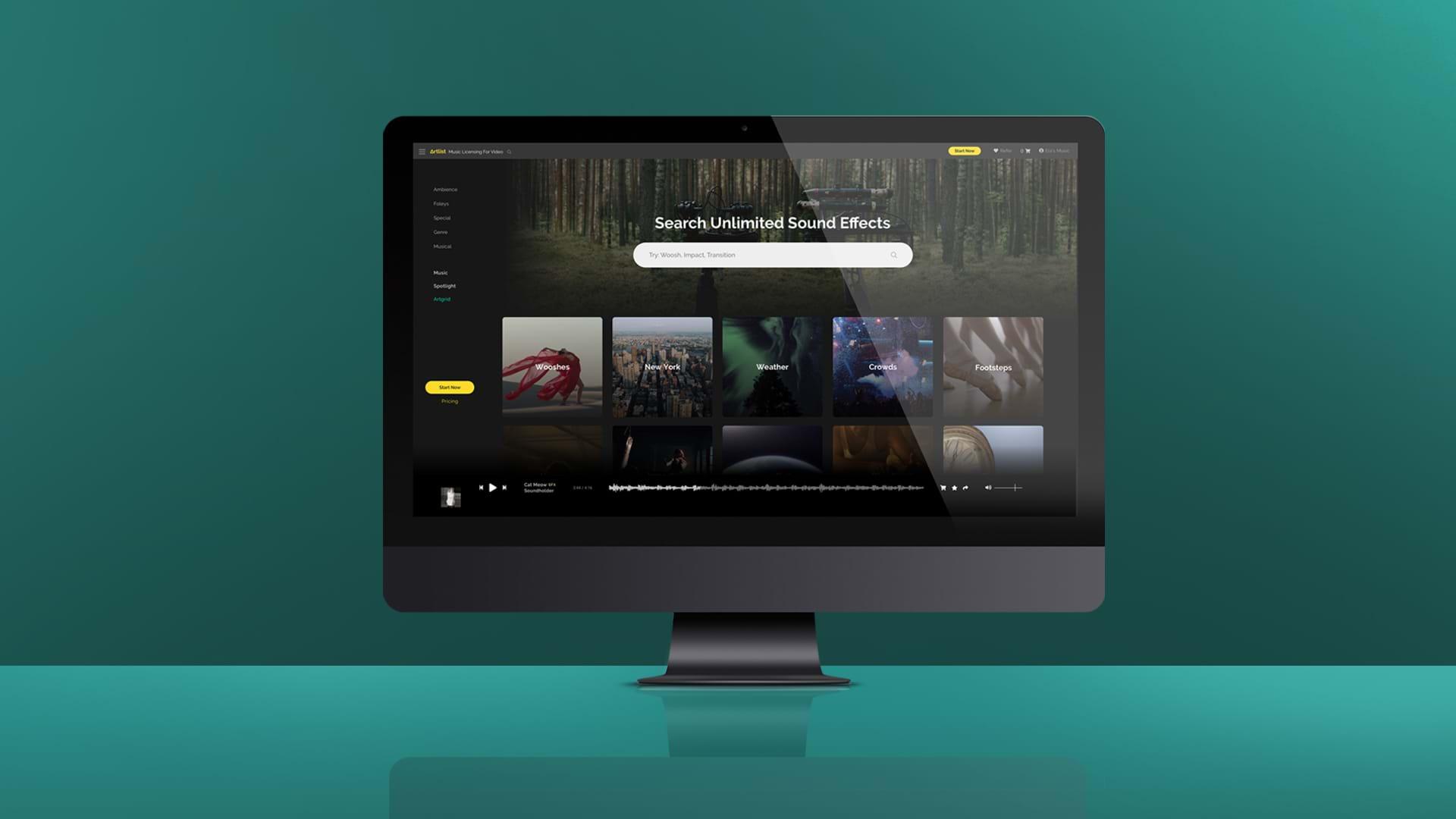 Artlist Launches Anticipated Sound Effects | Artlist