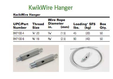 B-Line Kwik Hanger