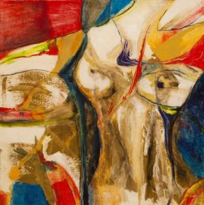 Torso - Mixed Media on Canvas