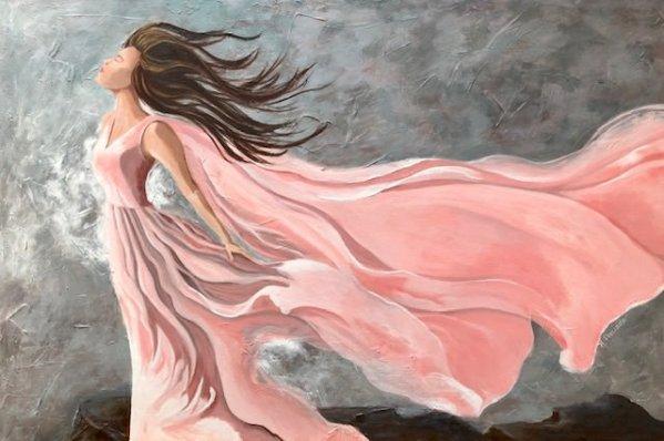 I'm Still Standing | San Diego Fine Art | Woman Survivor Art