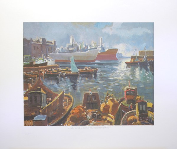 A PORTA - THE PORT (LITHOGRAPH)