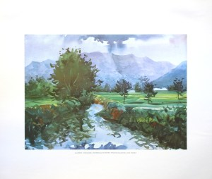 ALVARIDO - HIGHLANDS (LITHOGRAPH)