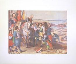 LEONARDO JUSEPE - JULIERS SURRENDER (LITHOGRAPH)