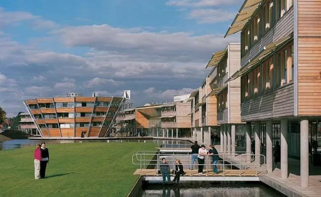 University Of Nottingham Jubilee Campus Hopkins Architects