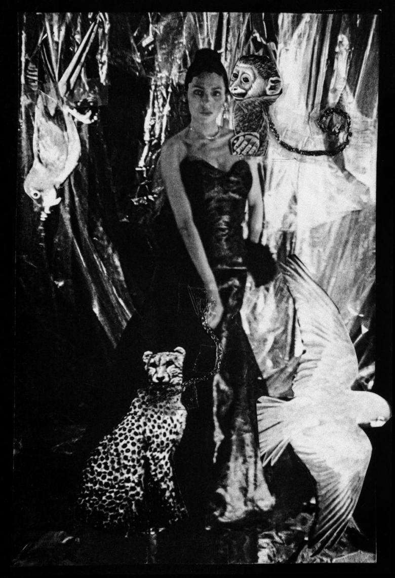 Ming Smith, Self-Portrait as Josephine (New York), 1986