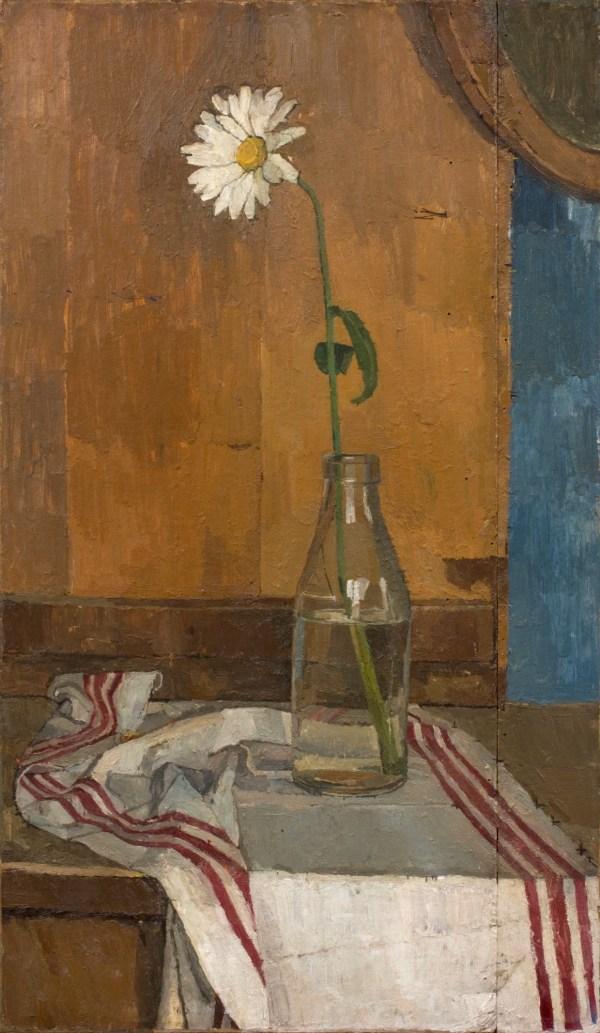 Euan Uglow Daisy In Milk Bottle 1953 Piano Nobile