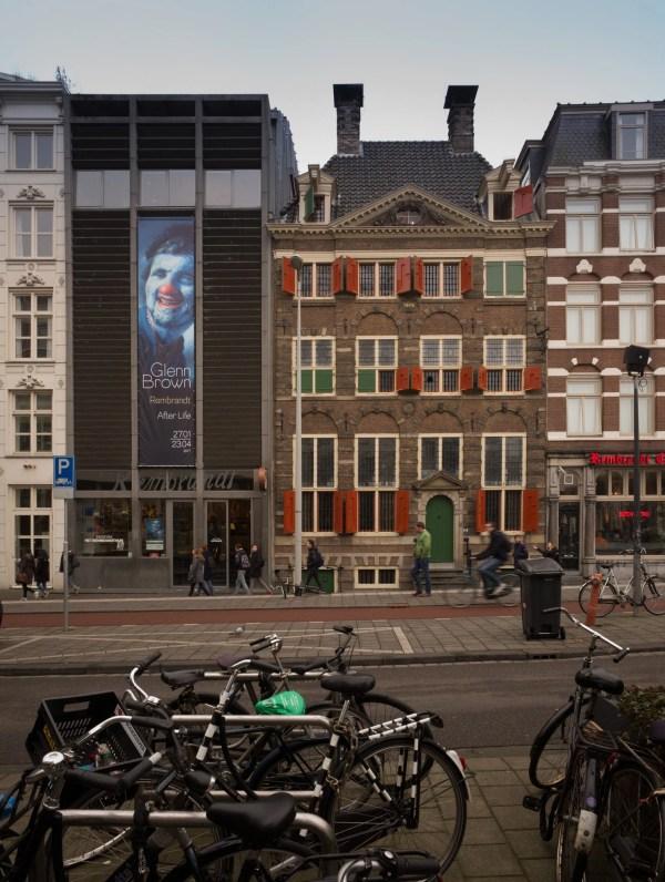 Glenn Brown - Rembrandt Life House