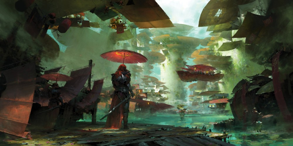 Guild Wars 2 Environment by Ruan Jia