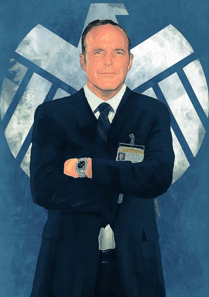 Agent Coulson by Chema Mansilla