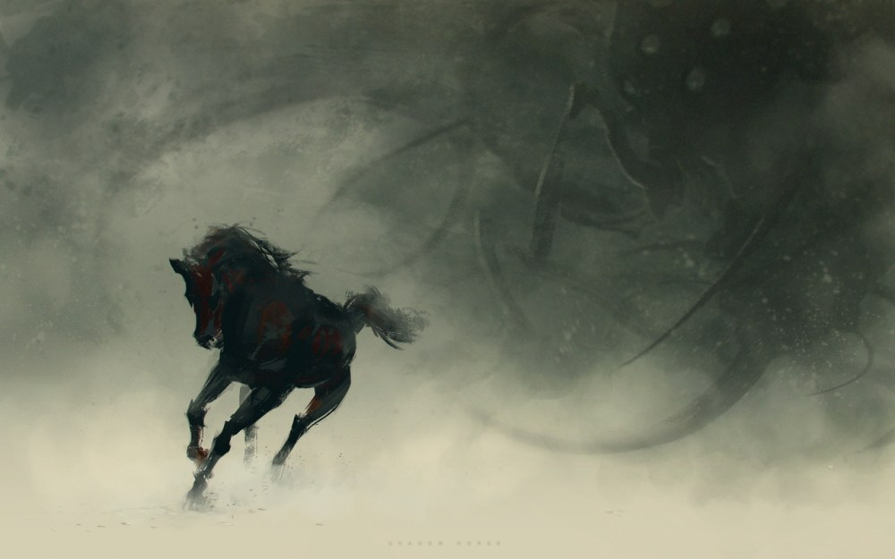 Shadow Horse by Ivan Kashubo