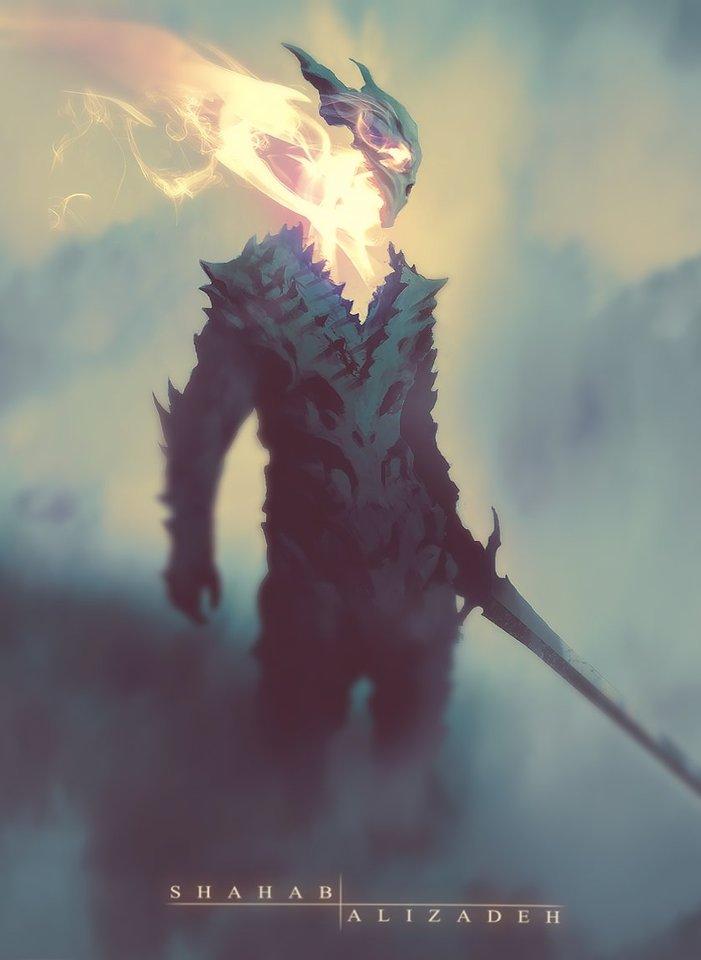 Dragon Soul by Shahab Alizadeh