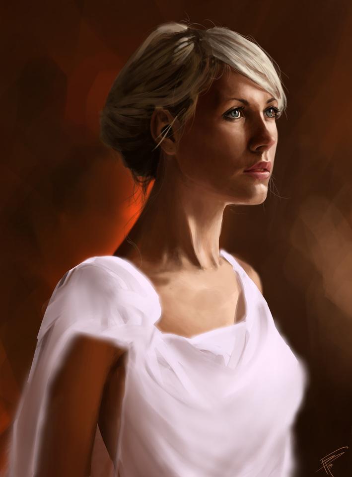White Dress by Thomas Bignon