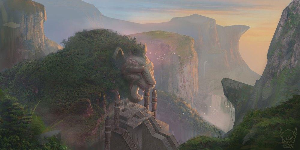 The Lion Temple byJuan Pablo Corredor Martinez
