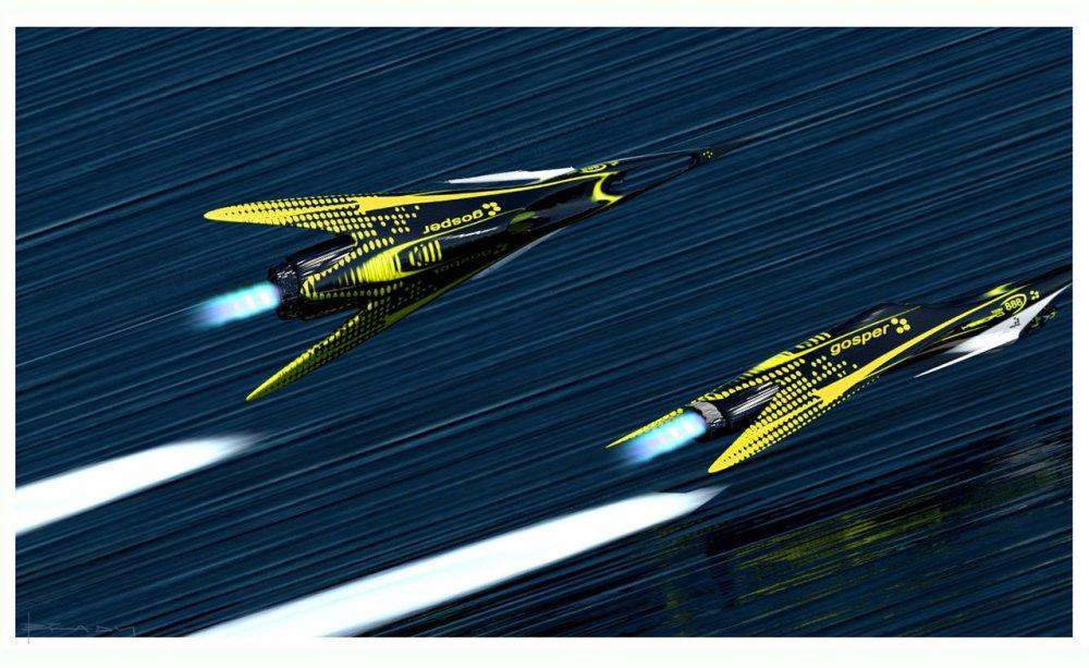 Gosper Glider by Alex Brady