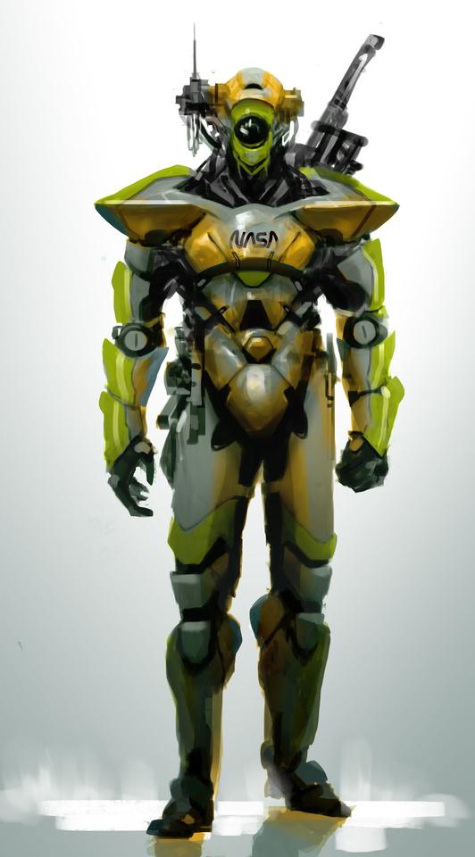 Nasa Security Bot1 by Julio Bencid