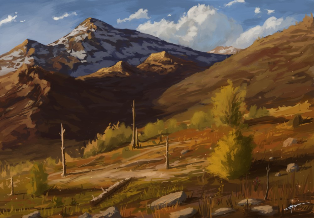 Mountain Hills by Boris Campistron