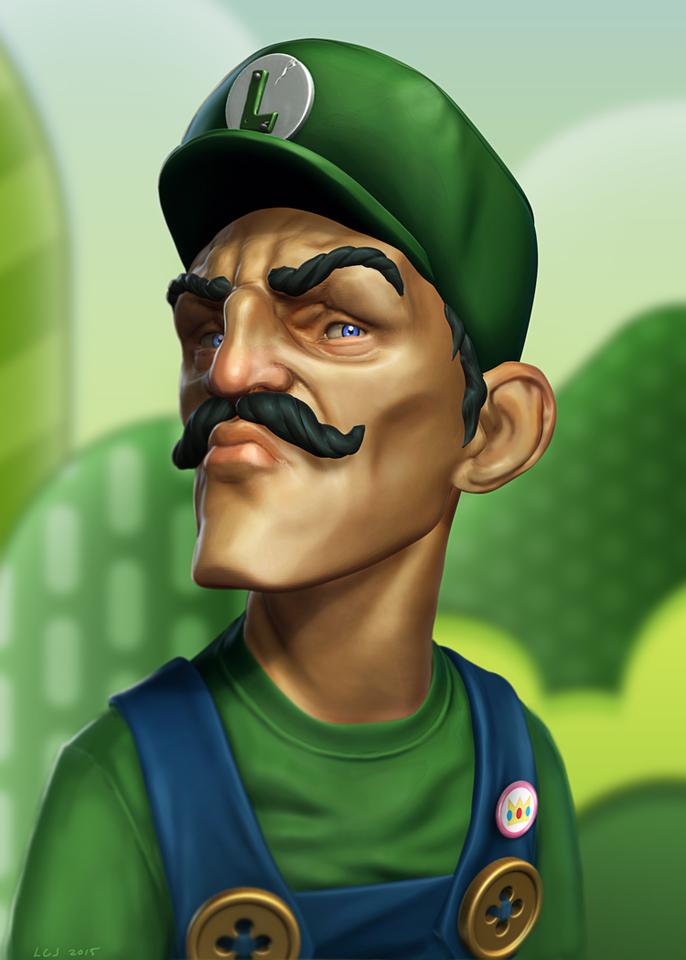 Luigi by Lionel Cornelius Jr
